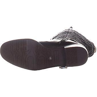 Charter Club Womens Helenn2 Fabric Almond Toe Knee High Fashion Boots