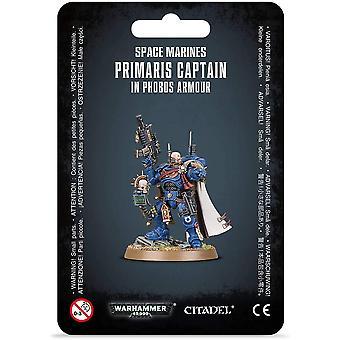 Spiele-Workshop - Warhammer 40.000 - S/M Primaris Captain Phobos Rüstung
