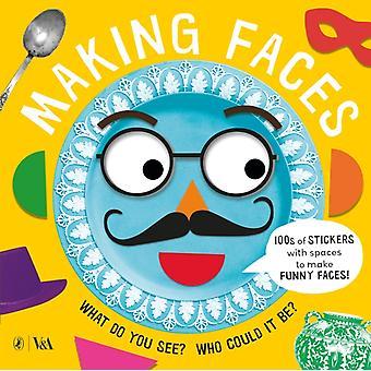 Making Faces A Sticker Book