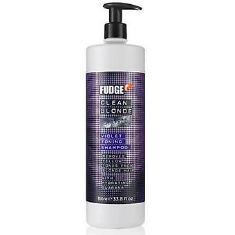 Fudge clean blonde violet shampoo 1000ml