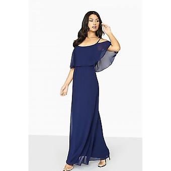 Girls On Film Womens/Ladies Motion Cold Shoulder Maxi Dress