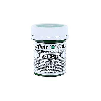 Sugarflair choklad färgning ljusgrön