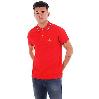 Psycho Bunny St Lucia Polo With Gold Bunny