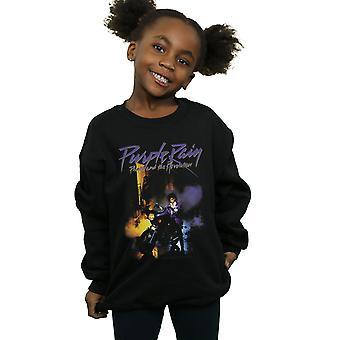 Prince Girls Purple Rain Sweatshirt