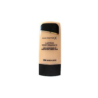 Max Factor Lasting Performance Foundation - Warm Almond 104