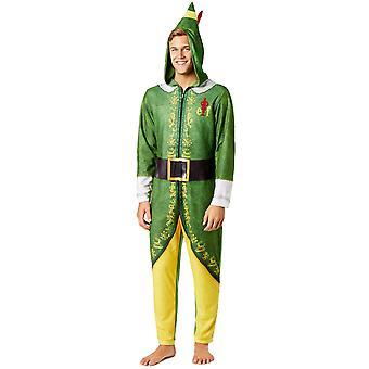 Elf elokuva vihreä ja keltainen unionin puku