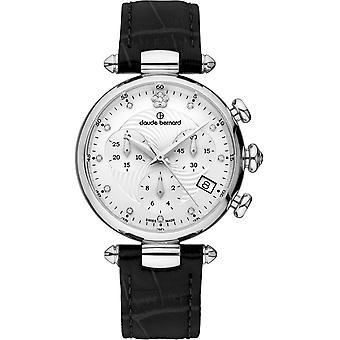 Claude Bernard - Wristwatch - Women - Dress code Chronograph - 10215 3 APN2