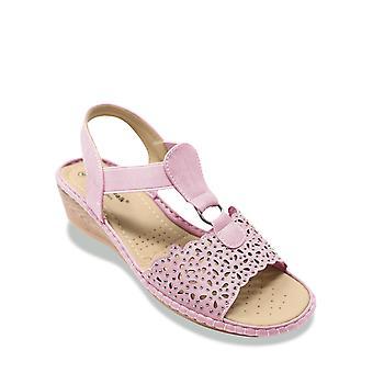 Cushion Walk Ladies Diamante Sandal