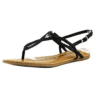 American Rag Womens Akeira Split Toe Casual T-Strap Sandals