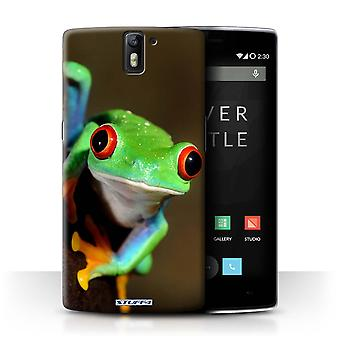 STUFF4 Case/Cover for OnePlus One/Frog/Wildlife Animals