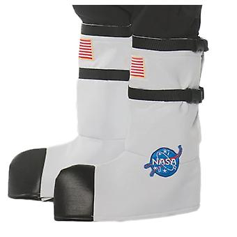 Astonaut Boot Tops White Adult