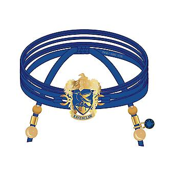 Harry Potter Bracelet Ravenclaw Suede Wrap Charms And Beads new Official
