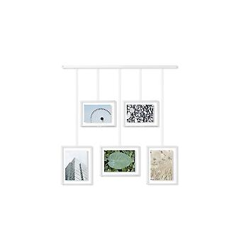 Umbra Exhibit Verstelbare Multi Photo Display Frame - Wit