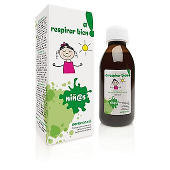 Soria Natural Children's Syrup to Breathe Well
