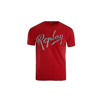 Replay M37212660353 universal durante todo o ano masculino t-shirt