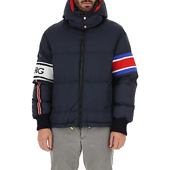 Iceberg J10050506688 Men's Blue Nylon Outerwear Jacket