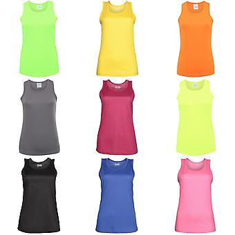 Just Cool Girlie Fit Sports Ladies Vest / Tank Top