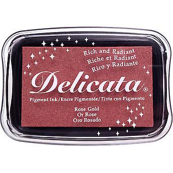 Delicata pigmentti muste pad - ruusu kulta