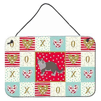 Siberian Forest #1 Cat Love Vägg eller dörr hängande utskrifter