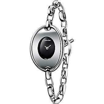 Calvin Klein women's Quartz analogue watch with stainless steel band K3H2M121