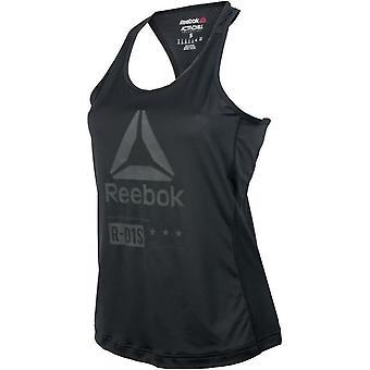 Reebok One Series Activchill Graphic W AX8691 koulutus ympäri vuoden naisten t-paita