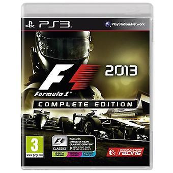 Formula 1 2013 Complete Edition (PS3) - Neu