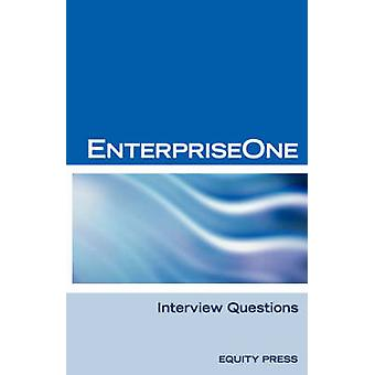 Oracle Jde  Enterpriseone Interview Questions Answers and Explanations Enterpriseone Certification Review by SanchezClark & Terry
