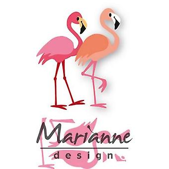 Marianne Design Collectables Cutting Dies - Eline's Flamingo Col1456 75x53mm