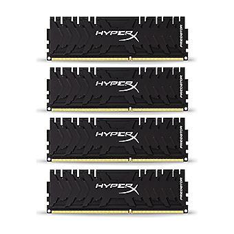 HyperX Predator HX432C16PB3K4/32 Memoria DDR4 32 GB Kit (4 x 8 GB), 3200 MHz CL16 DIMM XMP