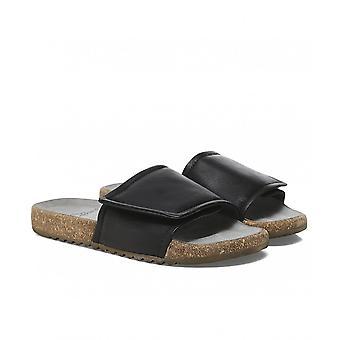 Lofina Leather Sliders