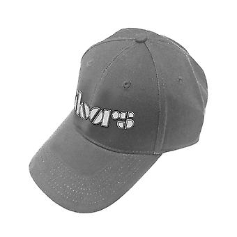 The Doors Baseball Cap Classic Band Logo new Official Grey Strapback