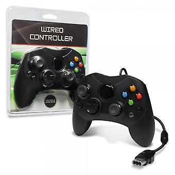 XBOX проводной контроллер (черный)