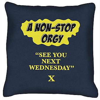 American Werewolf In London See You Next Wednesday Cushion