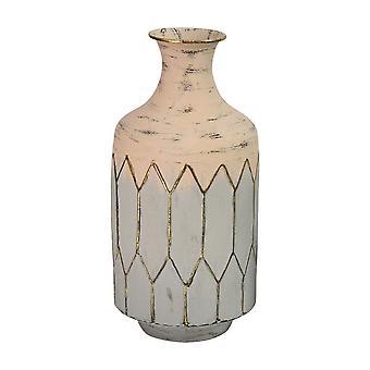 Light Pink Metal Table Vase