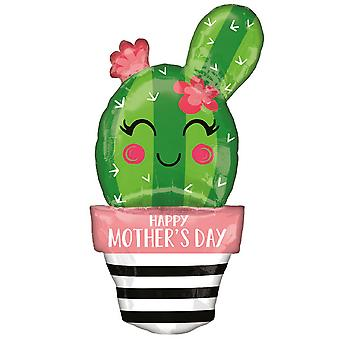 Anagram Supershape Happy Mothers Day Cactus Balloon