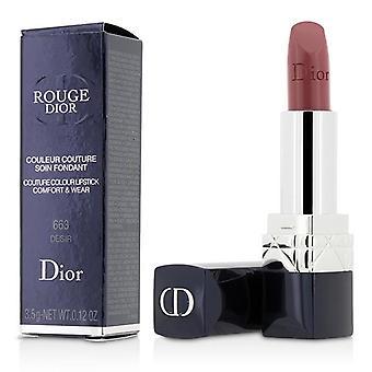 Christian Dior Rouge Dior Couture Farbe Komfort & Wear Lippenstift - # 663 Desir - 3.5g/0.12oz