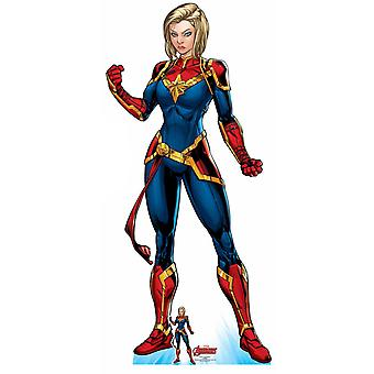 Captain Marvel Official Lifesize Marvel Avengers Cardboard Cutout / Standee
