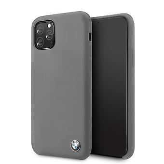 BMW Plain Backcover Case iPhone 11 Pro - Grau