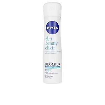 Nivea Milk Beauty Elixir Deo Spray 150 Ml Pour les femmes