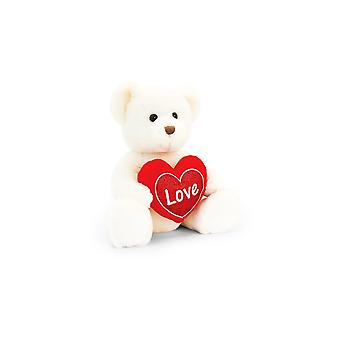 Keel Toys Chester Bear With Heart 20cm