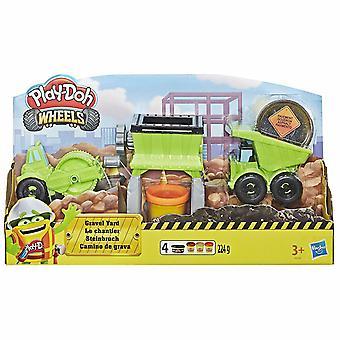 Play-Doh Heels Gravel Yard Construction Toy Set