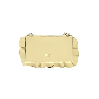Red Valentino Tq2p0a5211p Women's Yellow Leather Clutch