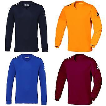 Lotto Mens Football Jersey Long Sleeve Team Evo Sports V Shirt