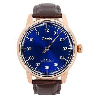 Jcob Einzeiger JCW004-LR01 rose gold/blue men's watch