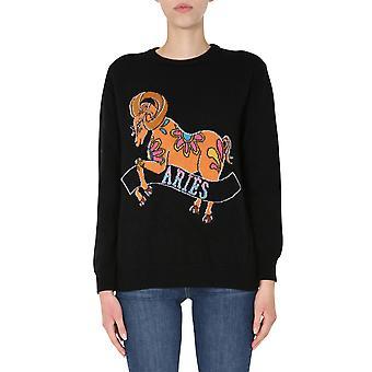 Alberta Ferretti 091801091555 Kvinder's Sort Bomuldssweater