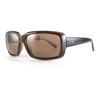 Sundog Serenity True Blue Sunglasses Brown Demi / Brown