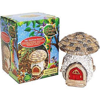 The Faries Enchanted Garden Fairy Mushroom Mansion