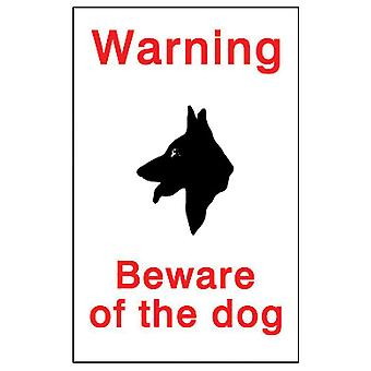 House Nameplate Co Beware of the Dog Sign