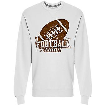 American Football Time Sweatshirt Men's -Image by Shutterstock