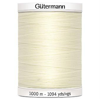 Gutermann Sew-all 100% Polyester Thread 1000m Hand and Machine - 001